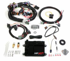Holley EFI Injection Kits - Holley HP EFI Fuel Injection Systems - Holley - Holley HP EFI ECU and Harness Kit for Universal V8 with EV1 Connectors - NTK O2 Sensor