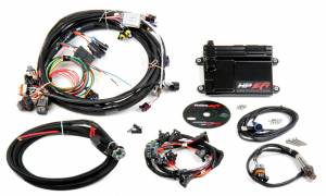 Holley EFI Injection Kits - Holley HP EFI Fuel Injection Systems - Holley - Holley HP EFI ECU and Harness Kit for LS1 LS6 24x with EV1 Connectors - Bosch O2 Sensor