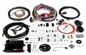 Holley EFI Injection Kits - Holley HP EFI Fuel Injection Systems - Holley - Holley HP EFI ECU and Harness Kit Unterminated Harness with EV1 Connectors - Bosch O2 Sensor