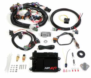 Holley EFI Injection Kits - Holley HP EFI Fuel Injection Systems - Holley - Holley HP EFI ECU and Harness Kit for Universal V8 with EV1 Connectors - Bosch O2 Sensor