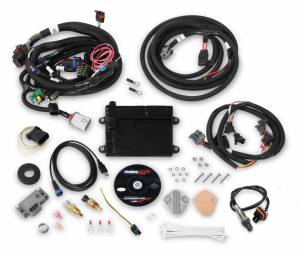 Holley EFI Injection Kits - Holley HP EFI Fuel Injection Systems - Holley - Holley HP EFI ECU and Harness Kit Universal Ford V8 with EV1 Connectors - Bosch O2 Sensor