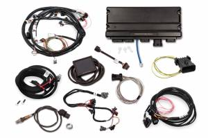 Holley EFI Injection Kits - Holley Terminator X EFI Powertrain Management System - Holley - Holley Terminator X Max MPFI Controller Kit Universal with DBW Throttle Body & Transmission Control
