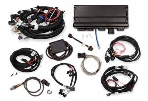 Holley EFI Injection Kits - Holley Terminator X EFI Powertrain Management System - Holley - Holley Terminator X Max MPFI Controller Kit for GM 24X Truck with DBW Throttle Body & Transmission Control