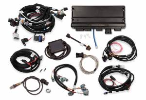 Holley EFI Injection Kits - Holley Terminator X EFI Powertrain Management System - Holley - Holley Terminator X Max MPFI Controller Kit for GM 58X Truck with DBW Throttle Body & Transmission Control