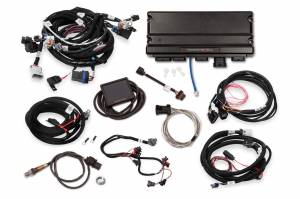 Holley EFI Injection Kits - Holley Terminator X EFI Powertrain Management System - Holley - Holley Terminator X Max MPFI Controller Kit For LS2 LS3 Engines with DBW Throttle Body & Transmission Control