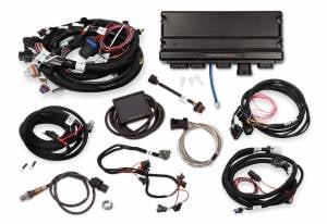 Holley EFI Injection Kits - Holley Terminator X EFI Powertrain Management System - Holley - Holley Terminator X Max MPFI Controller Kit for LS1 LS6 24X Engines with DBW Throttle Body & 4L60E 4L80E Transmission Control