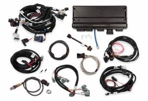 Holley EFI Injection Kits - Holley Terminator X EFI Powertrain Management System - Holley - Holley Terminator X Max MPFI Controller Kit for GM 58X Truck with DBW Throttle Body & Transmission Control - No Handheld