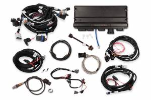 Holley EFI Injection Kits - Holley Terminator X EFI Powertrain Management System - Holley - Holley Terminator X Max MPFI Controller Kit For LS2 LS3 Engines with DBW Throttle Body & Transmission Control - No Handheld