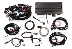 Holley EFI Injection Kits - Holley Terminator X EFI Powertrain Management System - Holley - Holley Terminator X Max MPFI Controller Kit for LS1 LS6 24X Engines with DBW Throttle Body & 4L60E 4L80E Transmission Control - No Handheld