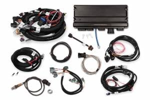 Holley EFI Injection Kits - Holley Terminator X EFI Powertrain Management System - Holley - Holley Terminator X Max MPFI Controller Kit For LS1 LS6 Engines with DBW Throttle Body & Transmission Control - No Handheld