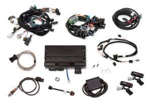 Holley EFI Injection Kits - Holley Terminator X EFI Powertrain Management System - Holley - Holley Terminator X For Ford Modular Motor 2V with Stock Coils and EV1