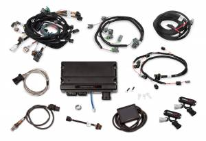 Holley EFI Injection Kits - Holley Terminator X EFI Powertrain Management System - Holley - Holley Terminator X For Ford Modular Motor 2V with Stock Coils and EV6