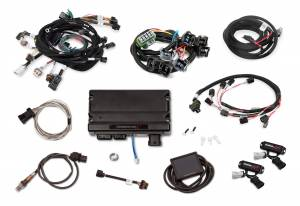 Holley EFI Injection Kits - Holley Terminator X EFI Powertrain Management System - Holley - Holley Terminator X For Ford Modular Motor 4V with Stock Coils and EV1