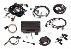 Holley EFI Injection Kits - Holley Terminator X EFI Powertrain Management System - Holley - Holley Terminator X For Ford Modular Motor 4V with Stock Coils and EV6