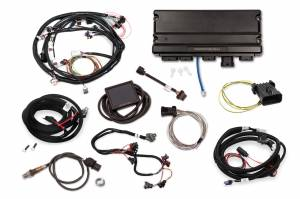 Holley EFI Injection Kits - Holley Terminator X EFI Powertrain Management System - Holley - Holley Terminator X Max MPFI Controller Kit Universal Ford Motors with 4L60E/80E Transmission Control