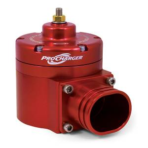 ATI / Procharger Superchargers - Procharger Bypass / Anti-Surge Valves / Oil - ATI/Procharger - ATI Black Race Bypass Valve With Mounting Hardware - Enclosed (Aluminum Flange)