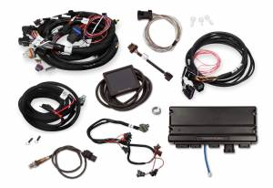 Holley EFI Injection Kits - Holley Terminator X EFI Powertrain Management System - Holley - Holley Terminator X Max MPFI Controller Kit For LS2/LS3 58x Crank 4x Cam with DBW Throttle Body & Transmission Control