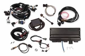 Holley EFI Injection Kits - Holley Terminator X EFI Powertrain Management System - Holley - Holley Terminator X Max MPFI Controller Kit For LS2 LS3 Engines & GM Truck 58x Crank 4x Cam with DBW