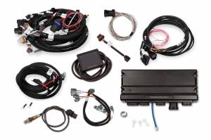 Holley EFI Injection Kits - Holley Terminator X EFI Powertrain Management System - Holley - Holley Terminator X Max MPFI Controller Kit For LS1 LS6 Engines 24x Crank 1x Cam with DBW
