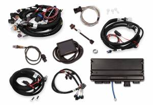 Holley EFI Injection Kits - Holley Terminator X EFI Powertrain Management System - Holley - Holley Terminator X Max LS MPFI Controller Kit for GM Truck 24X Multec 2 with DBW Throttle Body & Transmission Control