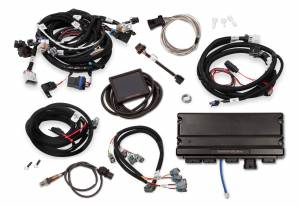 Holley EFI Injection Kits - Holley Terminator X EFI Powertrain Management System - Holley - Holley Terminator X Max LS MPFI Controller Kit for GM Truck and LS2 LS3 58X 4X Cam EV6 with DBW