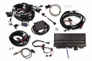 Holley EFI Injection Kits - Holley Terminator X EFI Powertrain Management System - Holley - Holley Terminator X Max LS MPFI Controller Kit for GM Truck and LS2 LS3 58X 4X Cam EV1 with Transmission Control