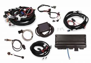 Holley EFI Injection Kits - Holley Terminator X EFI Powertrain Management System - Holley - Holley Terminator X Max LS MPFI Controller Kit for LS1 LS6 24x Crank Reluctor with Transmission Control