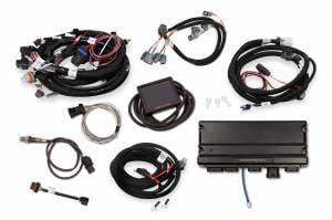 Holley EFI Injection Kits - Holley Terminator X EFI Powertrain Management System - Holley - Holley Terminator X Max LS MPFI Controller Kit for GM Truck and LS2 LS3 24X 1X Cam with Transmission Control