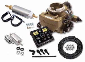 Holley EFI Injection Kits - Holley Sniper EFI Throttle Bodies - Holley - Holley Sniper EFI 2GC Small Bore Master Kit - Classic Gold