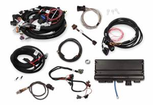 Holley EFI Injection Kits - Holley Terminator X EFI Powertrain Management System - Holley - Holley Terminator X Max MPFI Controller Kit For LS2/LS3 58x Crank 4x Cam with DBW Throttle Body - No Handheld