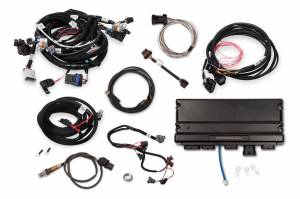Holley EFI Injection Kits - Holley Terminator X EFI Powertrain Management System - Holley - Holley Terminator X Max MPFI Controller Kit For LS2 LS3 Engines & GM Truck 58x Crank 4x Cam with DBW - No Handheld