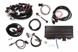 Holley EFI Injection Kits - Holley Terminator X EFI Powertrain Management System - Holley - Holley Terminator X Max MPFI Controller Kit For LS1 LS6 Engines 24x Crank 1x Cam with DBW - No Handheld