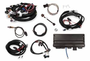 Holley EFI Injection Kits - Holley Terminator X EFI Powertrain Management System - Holley - Holley Terminator X Max LS MPFI Controller Kit for GM Truck 24X Multec 2 with Transmission Control
