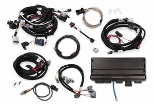 Holley EFI Injection Kits - Holley Terminator X EFI Powertrain Management System - Holley - Holley Terminator X Max LS MPFI Controller Kit for GM Truck and LS2 LS3 58X 4X Cam EV6 with DBW - No Handheld
