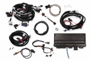 Holley EFI Injection Kits - Holley Terminator X EFI Powertrain Management System - Holley - Holley Terminator X Max LS MPFI Controller Kit for GM Truck and LS2 LS3 58X 4X Cam EV1 with Transmission Control - No Handheld