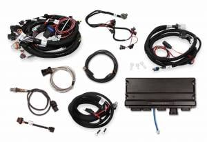 Holley EFI Injection Kits - Holley Terminator X EFI Powertrain Management System - Holley - Holley Terminator X Max LS MPFI Controller Kit for LS1 LS6 24x Crank Reluctor with Transmission Control - No Handheld