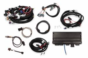 Holley EFI Injection Kits - Holley Terminator X EFI Powertrain Management System - Holley - Holley Terminator X Max LS MPFI Controller Kit for GM Truck and LS2 LS3 24X 1X Cam with Transmission Control - No Handheld