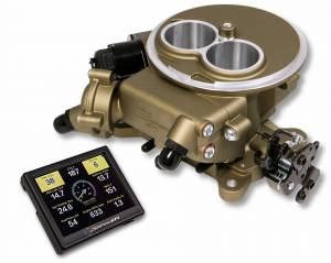 Holley EFI Injection Kits - Holley Sniper EFI Throttle Bodies - Holley - Holley Super Sniper EFI 2300 Self-Tuning Fuel Injection Kit - Classic Gold