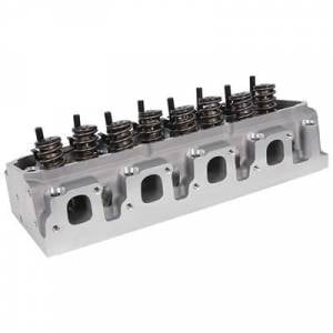 """TFS Cylinder Heads - Small Block Ford - Powerport Street Cylinder Heads for Small Block Ford - Trickflow - Trickflow PowerPort Cylinder Head, 351C/M/400 Clevor, 72cc Chambers, 1.550"""" Valve Springs, and Ti. Retainers, 225cc Intake"""
