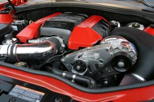 Vortech Superchargers - Chevrolet Camaro 2010-2017 - Vortech Superchargers - Chevrolet Camaro SS LS3 L99 2010-2011 6.2L Vortech Supercharger - Polished V-3 Si Complete Kit