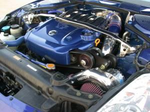 Vortech Superchargers - Nissan 350Z/Infiniti G35 2003-2006 - Vortech Superchargers - Nissan 350Z 2006 Vortech Supercharger - Polsihed V-3 SCI Complete Kit
