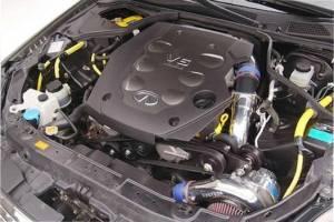 Vortech Superchargers - Nissan 350Z/Infiniti G35 2003-2006 - Vortech Superchargers - Infiniti G35 2004 Vortech Supercharger - Polished V-3 SCI Complete Kit