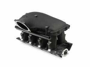 "Holley - Holley EFI 8.2"" Ford SBF Hi-Ram Manifold with Side Mount Top 105mm Throttle Bore - Black"
