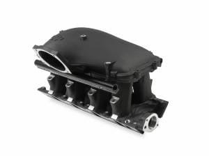 "Air Induction - Holley EFI Hi-Ram Intake Manifolds - Holley - Holley EFI 8.2"" Ford SBF Hi-Ram Manifold with Side Mount Top 105mm Throttle Bore - Black"