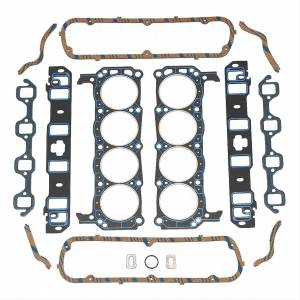 Track Heat Black Powdercoated Top-End Engine Parts for Ford 5.0L - No Heads