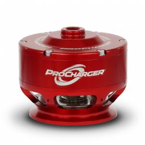 ATI / Procharger Superchargers - Procharger Bypass / Anti-Surge Valves / Oil - ATI/Procharger - ATI Red Competition Valve With Mounting Hardware -Weld-On Flange V-Band