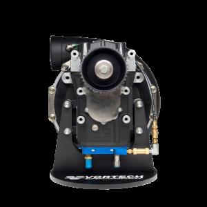 Vortech Superchargers - Head Units Only - Vortech Superchargers - Vortech V-30 123A Supercharger Head Unit Only - Black