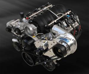 ATI / Procharger Superchargers - Chevy LS Procharger Transplant Kits - ATI/Procharger - LS / LSX Procharger Transplant Serpentine HO Kit with D-1X for EFI/Carb