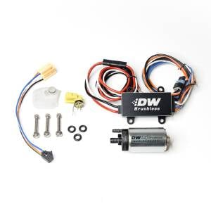 DeatschWerks Fuel Injectors & Pumps - DeatschWerks Fuel Pumps - DeatschWerks - Ford Fiesta ST 2014-2019 440LPH DeatschWerks Brushless In-Tank Fuel Pump Kit with Single Speed Controller