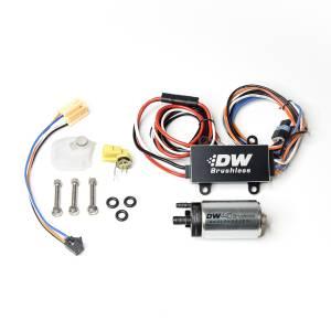 DeatschWerks Fuel Injectors & Pumps - DeatschWerks Fuel Pumps - DeatschWerks - Ford Fiesta ST 2014-2019 440LPH DeatschWerks Brushless In-Tank Fuel Pump Kit with Dual Speed PWM Controller